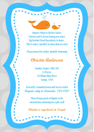 full size of baby shower invitations boy wording invite for gift cards bring diapers coed 105