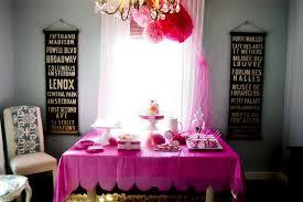 princess party diy scalloped tablecloth diy tissue paper