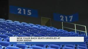 Alltech Arena Seating Chart Rupp Arena Adds Chair Backs