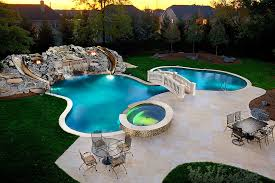 beautiful pools with slides. Perfect Beautiful View In Gallery Custom Swimming Pool And Garden With Waterfalls Slides  A Beautiful Bridge Design In Beautiful Pools With Slides E