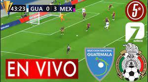 Guatemala Vs México Partido Copa Oro ...