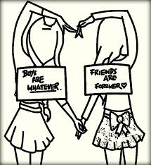 Best Friend Quotes Coloring Pages Boy Are Whatever Vs Best Friends