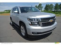 2015 Silver Ice Metallic Chevrolet Tahoe LT #94361016 | GTCarLot ...