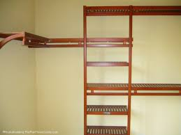 elegant organizer wood closet shelving diy design excellent wood closet shelving design