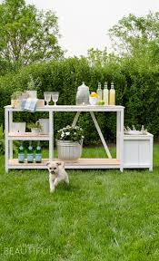 Diy outdoor bar Cheap Summer Entertaining Is Easy With This Beautiful Diy Outdoor Bar Free Plans Burst Of Beautiful Summer Entertaining Outdoor Bar Free Plans Burst Of Beautiful