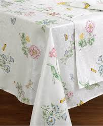 Table Cloth For Round Table Lenox Butterfly Meadow Table Linens Table Linens Dining