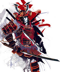 Samurai Warrior Design Magazine The Bold Digital Work Of Kent Floris Samurai