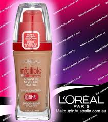 loreal infallible makeup advanced never fail makeup liquid foundation new loreal infallible liquid foundation