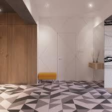Home Designs: Creative Tiles For The Entryway - Nordic Interior