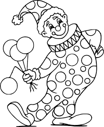 Coloriage Cirque Clown Tete L Duilawyerlosangeles