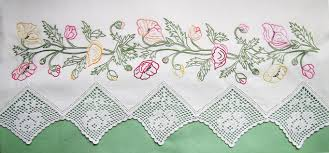 Pillow Case Hand Embroidery Designs Embroidered Pillowcase Patterns Easy Craft Ideas