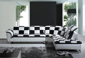 Modern Black And White Living Room Black And White Modern Living Room Furniture