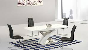 high enzo extending dining grey round modern awesome tables gloss chairs harveys table small set and