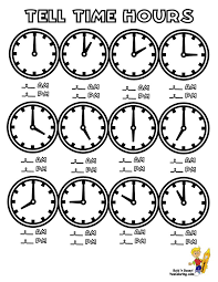 How To Teach A Child To Tell Time Worksheets Free Worksheets ...