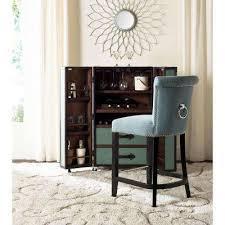 addo 25 7 in sky blue cushioned bar stool