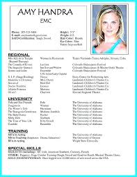 Acting Resume Templates Best Great Actor Resume Samples Photos Acting Resume For Beginners