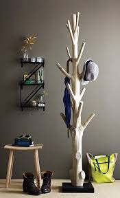 Wood Coat Rack Diy Awesome DIY Inspiration Branch Coat Rack Coat Racks House And Woods 94