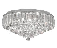 oaks lighting lienz 8 light semi flush ceiling light lead crystal 6104
