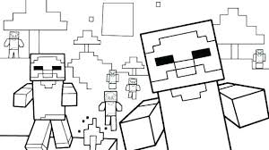 Minecraft Coloring Talegadayspa Com