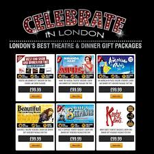 london theatre vouchers for two 99 95