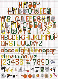 Cross Stitch Alphabet Patterns Mesmerizing Free Cross Stitch Alphabet Pattern