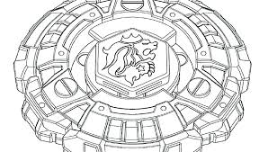Beyblade Burst Coloring Pictures