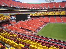 Fedex Field Club Level Seating Chart 11 Abundant Redskin Stadium Seating Chart