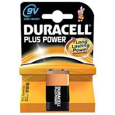 <b>Батарейки Duracell</b> крона 9V/B, <b>6LF22</b>/MN1604, 9 V, Alkaline ...