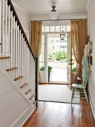 curtain for front doorFront Door Curtain  Houzz