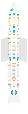 Sitzplan Von Airbus A340 300 343 V1 Lufthansa Finden Sie
