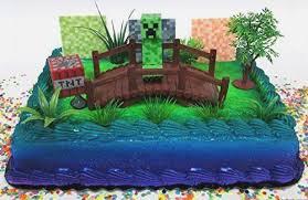 Minecraft Cake Toppers Printable Freshbirthdaycakecf