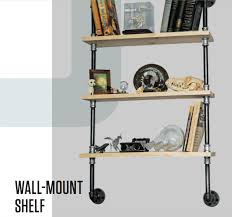 wall mount shelf pvc and pipe engineer
