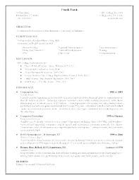 Sample Resume Writing For Freshers Effective Resumes Samples How To ...