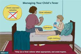 Managing A Childs Fever During The Night