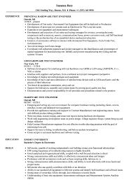 Sample Resume Qtp Automation Test Engineer Senior For Experienced