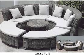 outdoor patio furniture wicker 7 piece
