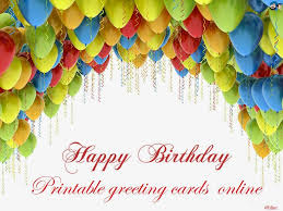 Online Printable Birthday Cards Printable Birthday Greeting Cards Online For Friends And