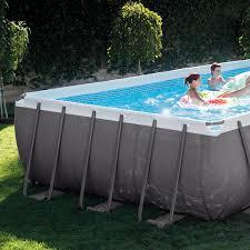 Intex 24 x 12 x 52 Ultra Frame Rectangular Above Ground Swimming