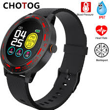 2020 S18 Women <b>Smart Watch</b> IP67 Waterproof Full Touch Screen ...