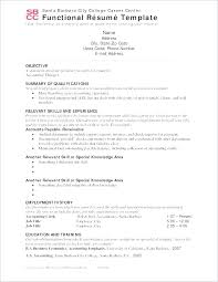 Resume Examples Career Change Cool Resume Fresh Template Functional Lovely Career Change Templates