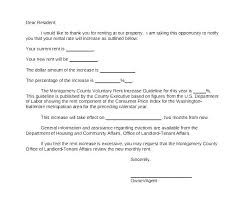 Rent Increase Form California Rent Increase Letter Templates Frank And 30 Day Notice Of California