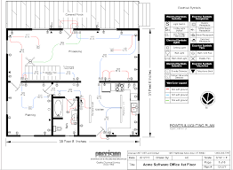 types of electrical diagrams electrical floor plan