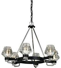 troy lighting chandelier troy lighting faction 6 light inch forged iron and polished nickel chandelier ceiling