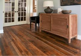 weathered antique flooring in a traditional style living room pine