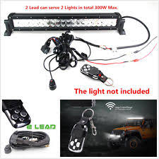 alco 120 vac line safety monitor led light mini gt33 12v 2lead car offroad led light wiring harness kit w remote control flash strobe