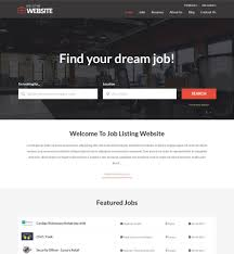 Jobs Searching Websites Vevs Job Portal Websites Website Builder