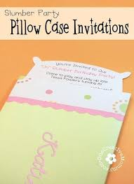How To Make A Sleepover Invitation Slumber Party Invitation Ideas Sleepover Invitation Slumber Party
