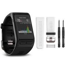 Garmin Vivosmart Hr Sizes Chart Garmin Vivoactive Hr Gps Smartwatch Regular Fit Black