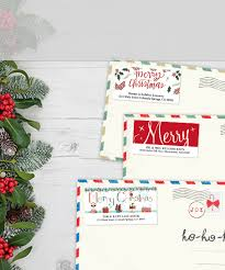 Christmas Address Labels Holiday Address Labels Colorful