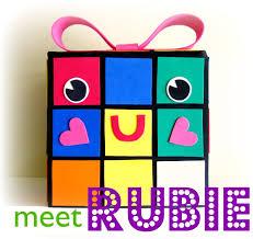 rubie my rubiks cube valentine box